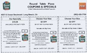use round table s for really fresh pizzas