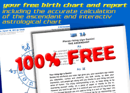 Free Natal Chart Interpretation Free Birth Chart Free Personalized Astrology Reports