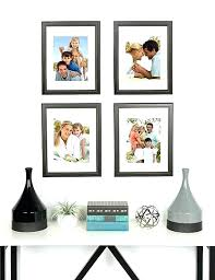 11x14 mat with 8x10 opening matted to solid wood picture frames distressed black pack of 4