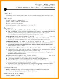 Resume With Internship Experience Examples Internship Placement Cover Letter Sample Resumes Objective Resume