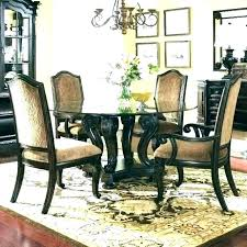 rug size for 6 seater dining table rugs selecting sizes every room what size rug for