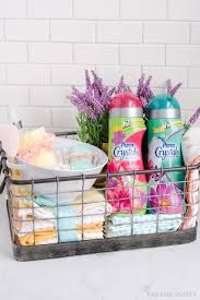 diy housewarming gift basket ideas love how it includes things that you need right when