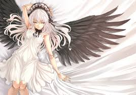 anime characters with wings. Delighful Wings Anime Girl With Wings And A Sword  Anime Casero  Noticias De Animes   Msica Chrome Skin  In Characters With Wings U