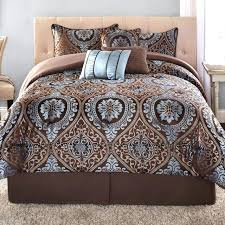 mainstays comforter king size mainstays 7 piece jacquard bedding comforter set mainstays comforter set collection colorblock