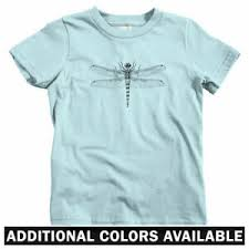 Details About Dragonfly Kids T Shirt Baby Toddler Youth Tee Insect Bug Anisoptera Entomology