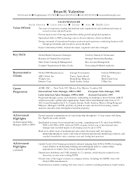 Sales Manager Resume Examples Free Awesome Sales Manager Resume