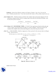 Structural Design Formulas Three Moments Elements Of Architectural Structures