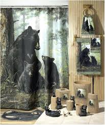 Curtains & Drapes : Fabulous Bear Shower Curtain Luxury Shower ...