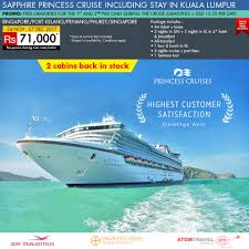sapphire princess cruise with kuala lumpur 27 nov 2017