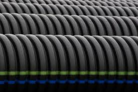 corrugated drain pipe