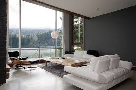 contemporary living room with neutral color palette and live edge coffee table design jeff