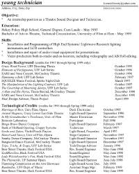 resume template theatre tech resume sample musical theatre resume