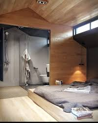 open plan en suite