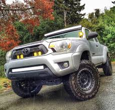 2nd Gen Tacoma Ditch Light Brackets Cali Raised Tacoma Ultimate Lighting Package 2005 2015 Cali
