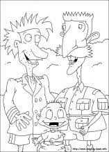 Small Picture Rugrats coloring pages on Coloring Bookinfo