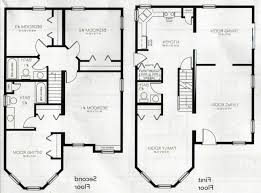 floor plan house 2 story magnificent simple floor plans 2 modern 2 story 3 bedroom house
