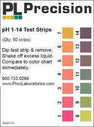 Ph 1 14 Test Strips Single Pad Precision Laboratories