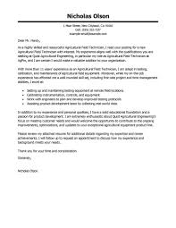 Cover Letter For Technician Job Best Field Technician Cover Letter Examples Livecareer