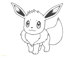 Eevee Coloring Pages Luxury Pokemon Eevee Coloring Pages Category