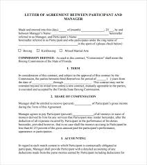 Letter Of Agreement Samples Template Stunning Letter Of Agreement Template Between Two Parties Letter Of Agreement