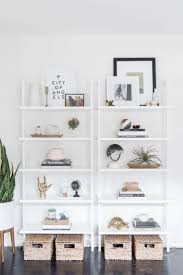 Get the Look: Modern Bookshelf Styling. Shelving DecorWhite Shelving Unit Open ...