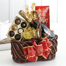 ideas for making a chocolate gift basket