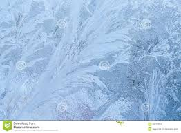 Texture With Ice Frozen On Window Stock Photo Image Of Glass