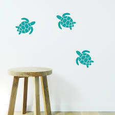 turtle wall stickers kid s space