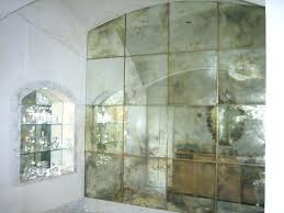 mercury glass mirror inspirational smoked tiles best mirrors amp images on faux for wall