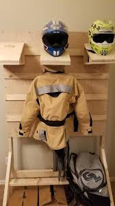 Motorcycle Coat Rack Motorcycle Gear Rack finished Album on Imgur 14