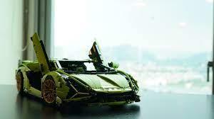 Chiếc Lamborghini này được làm từ 3.696 miếng ghép, siêu xe đắt nhất của  Lego
