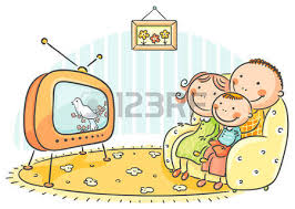family watching tv clipart. happy family watching tv together royalty free cliparts, vectors, and stock illustration. image 31732729. tv clipart