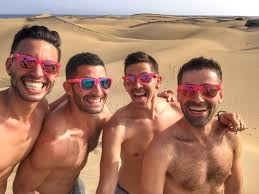 Gay nude vacation spain