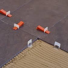 tile leveling system images