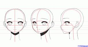 how to draw anime heads step by step for beginners. Perfect Step Inside How To Draw Anime Heads Step By For Beginners