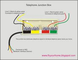 fix your home telephone junction box this type of junction box can accommodate up to four telephones per line