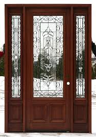 glass panel entry doors 4 steel front the home within wooden with panels decor 12