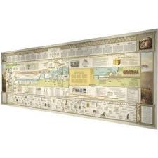 Bible Timeline Wall Chart The Book Of Mormon Timeline 6 Ft Wall Chart By Andrew J