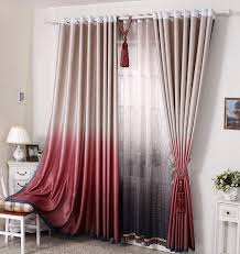 latest curtain designs for home. modern curtain designs in red peach tone with tussles latest for home t
