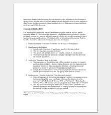 Research Literature Review Outline Template Format