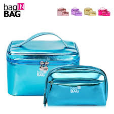 baginbag women cosmetic bag set makeup bags portable make up organizer bag twin set large capacity travel cosmetic cases best cosmetics cosmetics