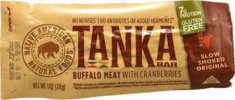 Tanka <b>Bar</b>® <b>Buffalo Meat</b> Natural Cranberry -- 1 oz - Vitacost