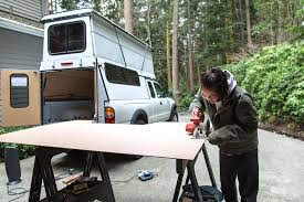 Homemade Truck Camper Shell Step-By-Step Instructions And Photos
