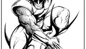 Small Picture Wolverine X Men Coloring pages free