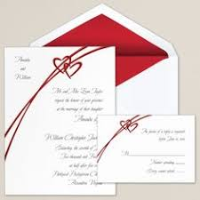 wedding invitations with hearts red and white heart wedding invitations valentines day wedding