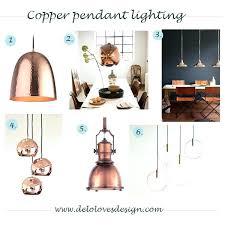 copper kitchen pendants pendant lighting finish loves design island lights over