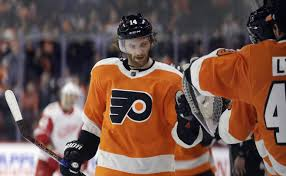 flyers nhl nhl capsules sean couturier scores 16th goal flyers beat red wings