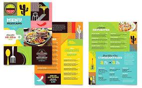Indian Restaurant Menu Template Fanpop Co