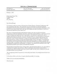 Resume Academic Program Director Cover Letter Best Inspiration