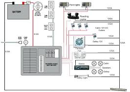 travel trailer 12v wiring diagram large size of 12 volt trailer light wiring diagram best examples travel electrical circuit shows components